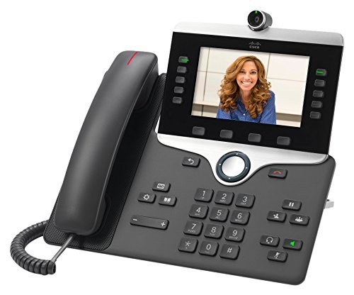 Cisco CP-8845-K9 8845 IP Phone (Renewed) (Power Supply Not Included)