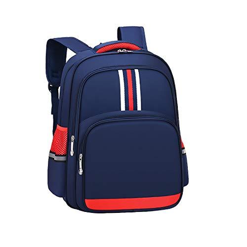 Jungen Rucksack, Schultaschen für Jungen, ideal für Kinderschüler Blau blau M