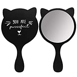 """You are purrfect"" cat mirror"