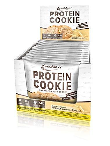 IronMaxx Protein Cookie- White Chocolate Almond, 75 g