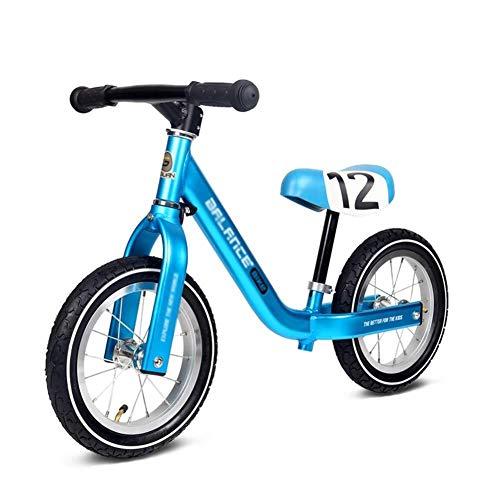 Laufräder, Laufrad, Kinder im Alter von 1 bis 5 Jahren, 28 cm Luftreifen, Aluminium ohne Pedal, Laufrad für das Gleichgewichtstraining als Geburtstagsgeschenk, Verstellbarer Lenkersitz ZHAOFENGMING