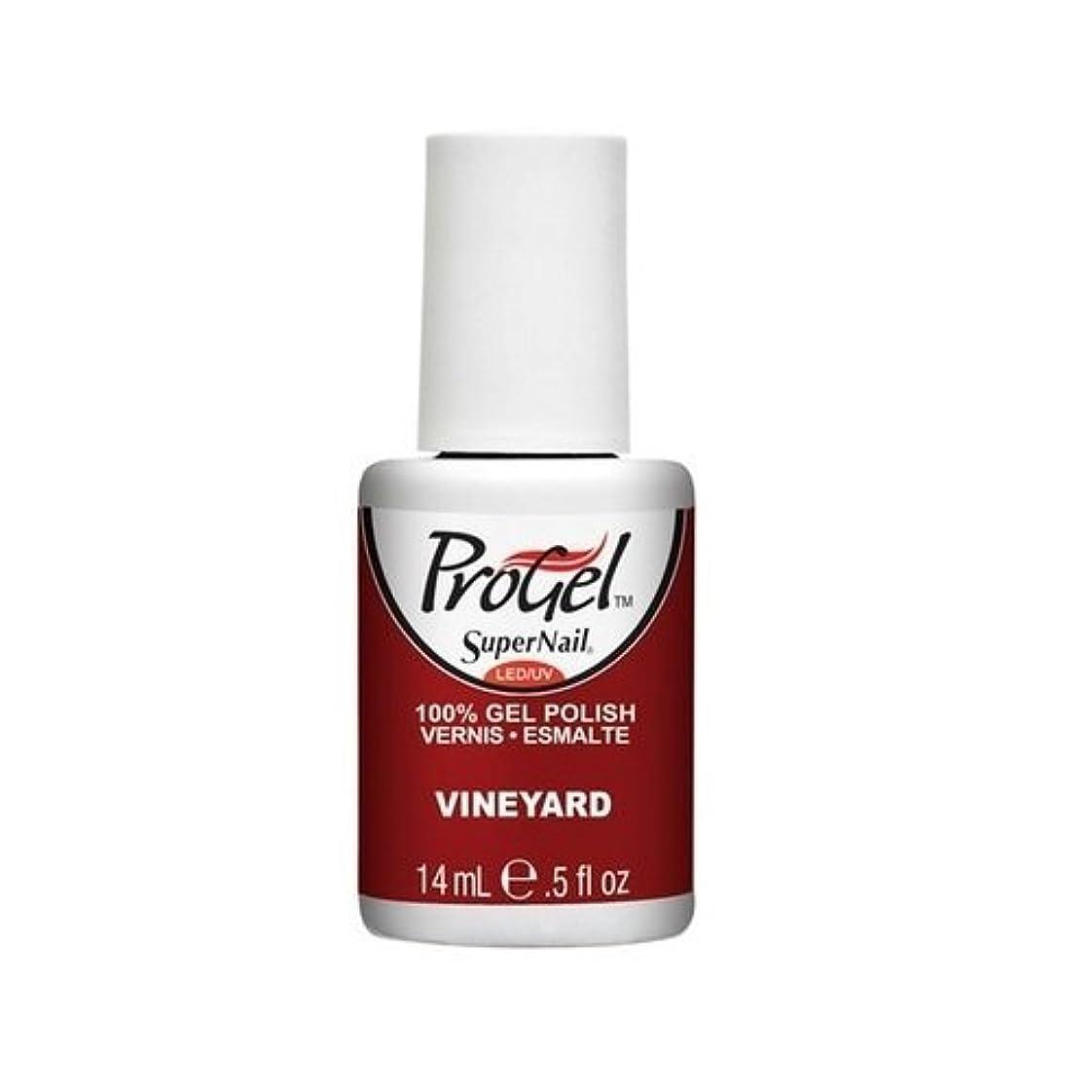 まあ薄める咳SuperNail ProGel Gel Polish - Vineyard - 0.5oz / 14ml