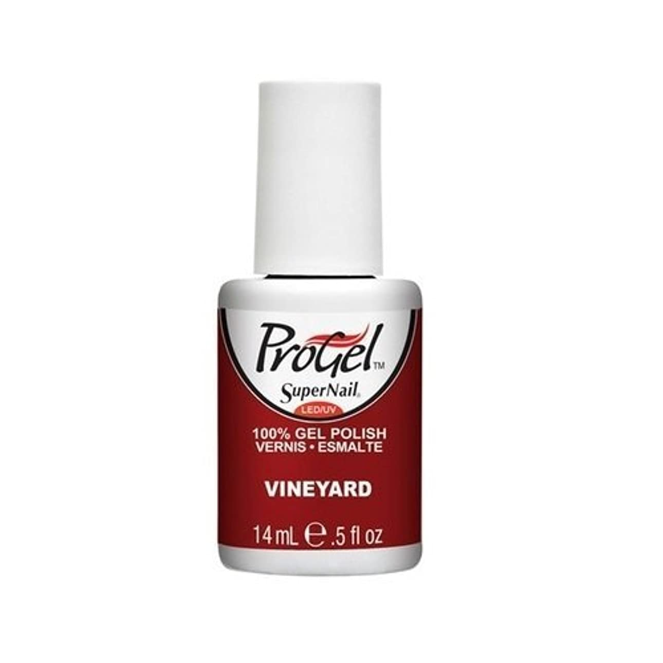 政府報復事実上SuperNail ProGel Gel Polish - Vineyard - 0.5oz / 14ml