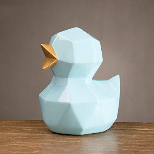 LJXLXY Decoración Manualidades Origami geometría Animal Pollito Lindo Adornos habitación Infantil Estudio 1