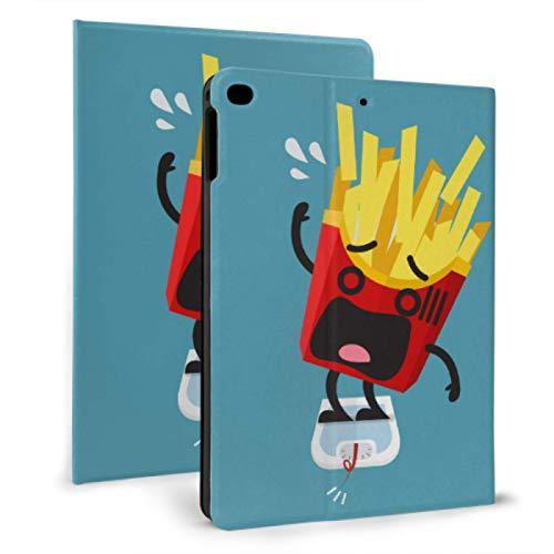 Ipad Case Protective Cool French Fries Cartoon Food Fashion Ipad Case Girls For Ipad Mini 4/mini 5/2018 6th/2017 5th/air/air 2 With Auto Wake/sleep Magnetic Soft Ipad Cover