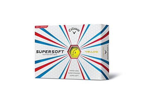 2015 Callaway Supersoft Golf Balls DOZEN - Yellow