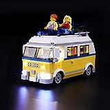 LIGHTAILING Conjunto de Luces (Creator Furgoneta de Playa) Modelo de Construcción de Bloques - Kit de luz LED Compatible con Lego 31079 (NO Incluido en el Modelo)
