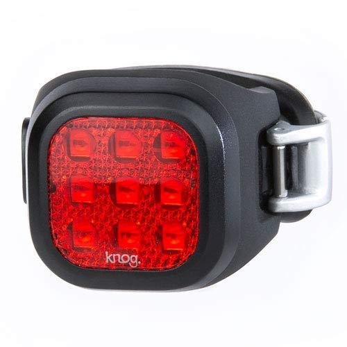Knog Niner - Iluminador unisex para adultos, color negro
