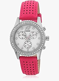 (Renewed) D'SIGNER Analog Silver Dial Women's Watch - 743 SL
