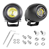 LED Pods, SWATOW 4 × 4 2PCS 2' 40W CREE Round Off Road LED Lights Spot Light Pods LED Driving Lights LED Work Light Waterproof LED Light Bar for Truck ATV UTV Motorcycle Jeep Boat, 3 Yrs Warranty