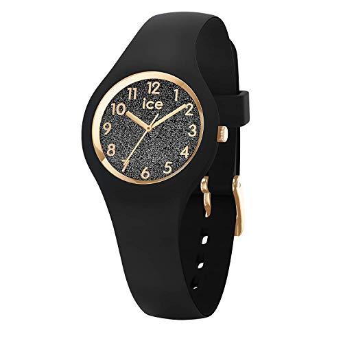 Ice-Watch - ICE glitter Black - Reloj nero para Mujer con Correa de silicona - 015347 (Extra small)