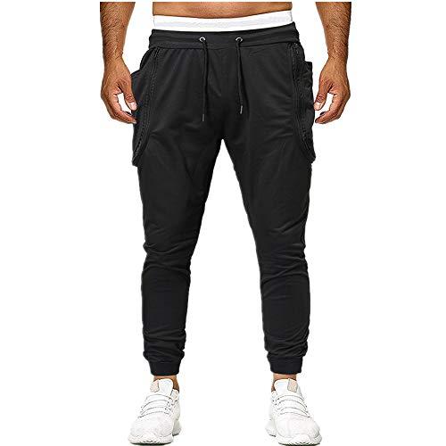 Pantalones masculinos para hombre de algodón suave sólido encogimiento tobillo pantalones pantalones de los hombres pantalones de joggers pantalones de chándal