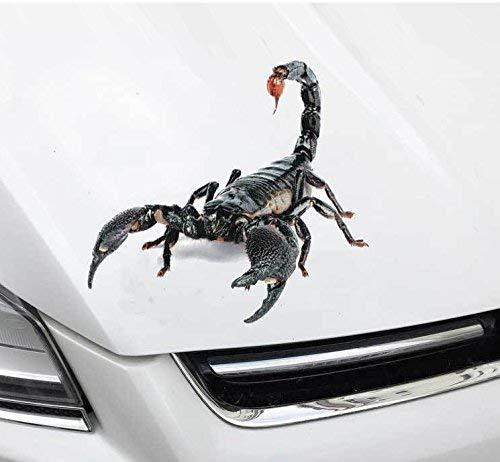 XJ 3D Wasserdicht Auto Aufkleber 1 X Monster Scary Würfel Auto Applique/Laptop iPad Ipad Fenster Wand Auto LKW Motorrad