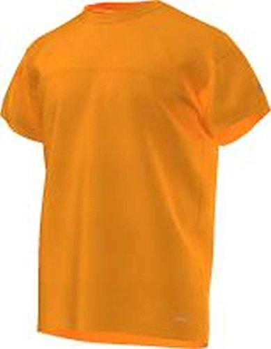adidas M HI Dry tee - Camiseta para Hombre, Color Naranja,