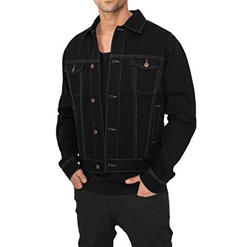 Urban Classics heren jeans jas TB-515 zwart maat M