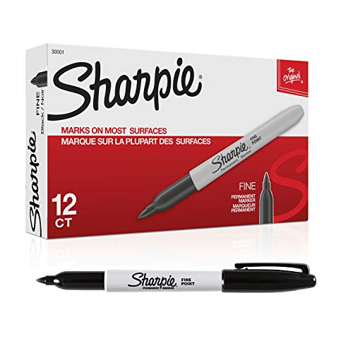 Sharpie 30001 - Rotulador permanente negro