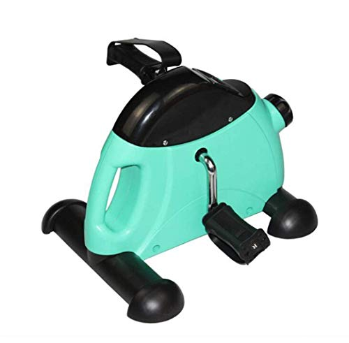 AUKLM Stepper,Multi-Function Stepper Mini Mute Home Blue Stepper Small Left and Right Step Sports Equipment Lightweight Old Stepper Size 34 41 30cm (Color : Green)