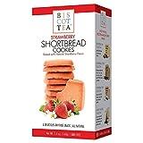BISCOTTEA Strawberry Shortbread Cookie (8 Cookies)