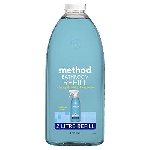 Method Bathroom Cleaner Refill, Eucalyptus Mint, 2 L