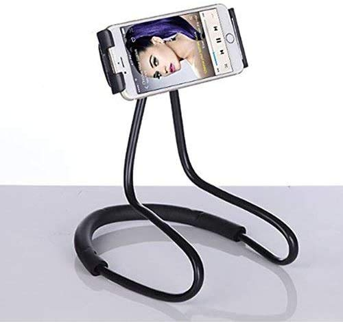 zazzamilo Car Holder - Soporte innovador para teléfono y tableta de cuello con soporte flexible, rotación de 360 grados
