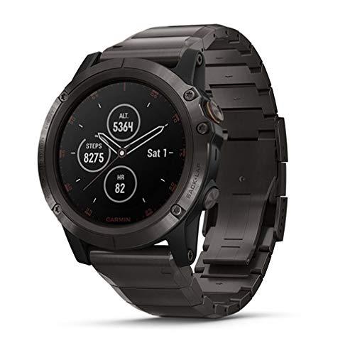 Garmin fēnix 5X Plus, Ultimate Multisport GPS Smartwatch, Features Color TOPO Maps...