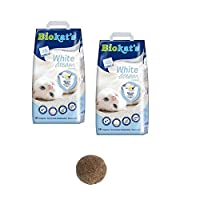 MADE USING ONLY THE VERY BEST white bentonite clay with disinfectant VIRTUALLY DUST FREE, the fresh granules dont stick to your cats paws so they wont leave a trail of litter behind them CLUMPS CAN BE EASILY AND SAFELY disposed of by flushing down th...