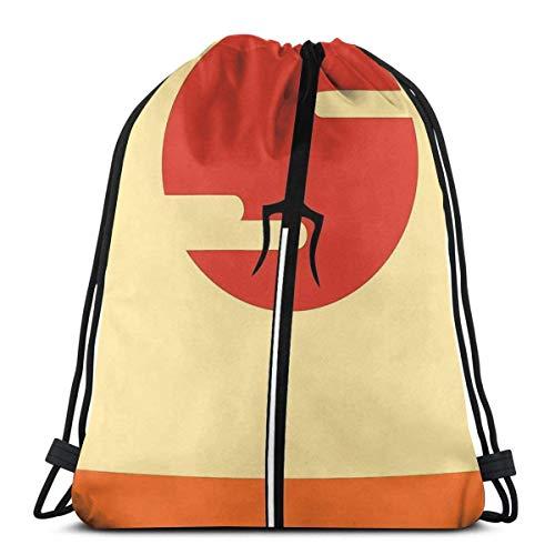 XCNGG Pikmin Fauna Sport Bag Gym Sack Mochila con cordón