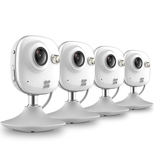 EZVIZ CV-100 Mini HD Indoor / Day & Night Wi-Fi Home Security Camera, 2.4mm Fixed Lens, 720p, Up to 25fps, H.264