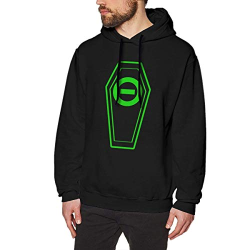 maichengxuan 3D Print Men's Hoodie, Mens Print Design Type O Negative Hooded Sweatshirts Winter Long Sleeve