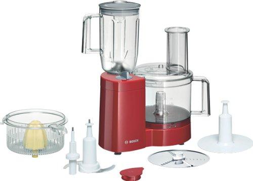Bosch MCM21R1, Rojo, 3000 g, 375 mm, 300 mm, 210 mm - Robot de cocina: Amazon.es: Hogar