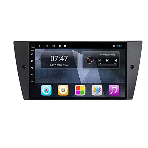 GOHHK Radio De Automóviles para BMW 3 Series E90 E91 E92 E93 2005-2013 GPS Naviagtion Car Multimedia Android 10.0 2 DIN Carpray DSP WiFi 4G BT SWC(Size:Ocho núcleos,Color:WiFi:1GB+16GB)
