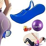 Kegel Exerciser Pelgrip Pelvis Floor Muscle Exerciser,Hip Muscle&Inner Thigh Trainer,Correction Beautiful Buttocks Bladder Control Device Postpartum Rehabilitation (Blue)