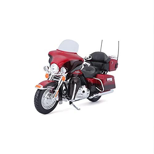 Maisto 2049729 - Modellino moto Harley-Davidson FLHTK Electra Glide Ultra Limited 2013, scala 1:12, Colori assortiti, 1 pz