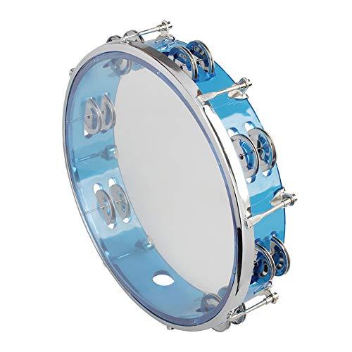 Allsunny Tamburin Selbststimmende Handbell Hand Drum Percussion Musikinstrument Spielzeug