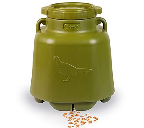 FINCA CASAREJO Comedero para perdices de Campo. Capacidad 40 litros. Comedero Aves Exterior