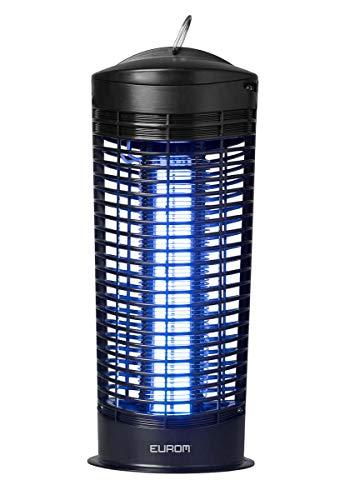 Eurom Elektrischer Insektenvernichter, Insektenkiller Moskito Killer, 11-Watt-UV-Lampe + FiduciaShop Thermometer Gratis