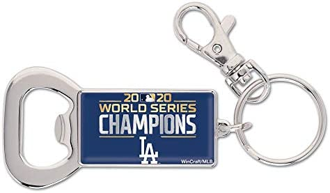 Los Angeles Dodgers 2020 World Series Champions Bottle Opener Keyring product image