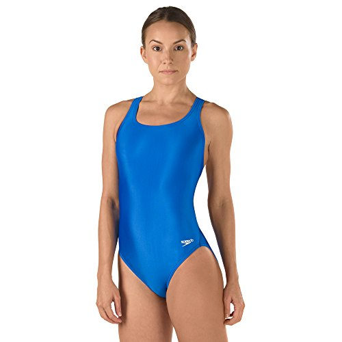 Speedo Girls' Swimsuit - Pro LT Super Pro, 10/26, Speedo Blue