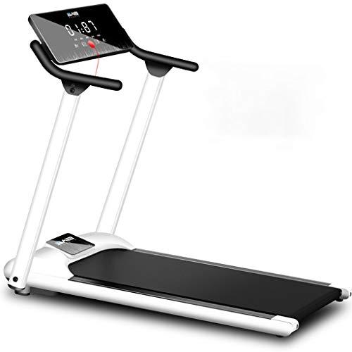 JINDEN Caminadora eléctrica Plegable, Corta Correr Correr máquina de Fitness con Pantalla LCD for Home Fitness