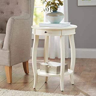 mainstays round accent table