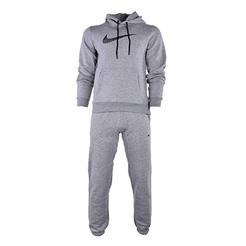 Nike Tuta Cotone Felpato Club Swoosh Colore Grigio TG L Tracksuit