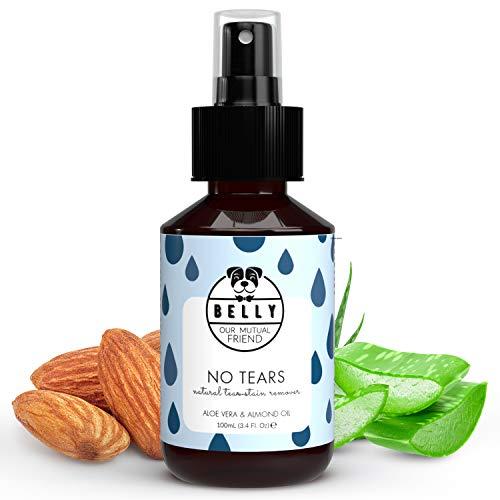 Augentropfen für Hunde von Belly No Tears I Natürliches & Biologisches Augenspray für Hunde 100 ml I Augenreinigung für große und kleine Hunde I Hundezubehör für die Hundepflege