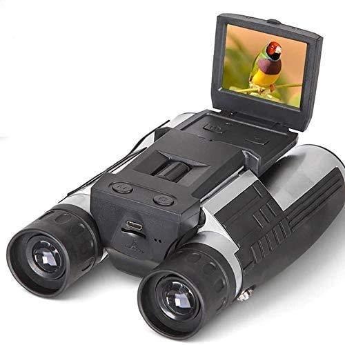 Cámara Digital 1080P 2.0'LCD 12X32 HD Binoculares Negros Telescopio Plegable con Buil - -In Cámara Digital New Full HD (8Gb)