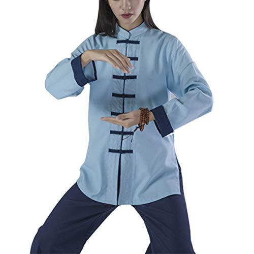 Tai Chi Anzug Platte Knopf Han Kleidung Baumwolle und Leinen Trainingskleidung Leistung Morgen Sportkleidung Anzug