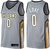 XSJY Jersey De Los Hombres De La NBA - Cleveland Cavaliers # 0 Kevin Love Edition Jersey, Unisex Retro Bordado Malla Jersey,L:175~180cm/75~85kg