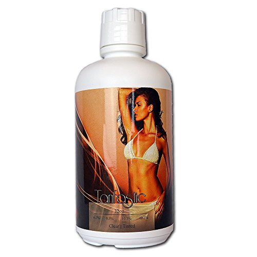 Tampa Bay Tan Tanfastic 8.5% Med DHA Sunless Airbrush Spraytan Solution 32 oz