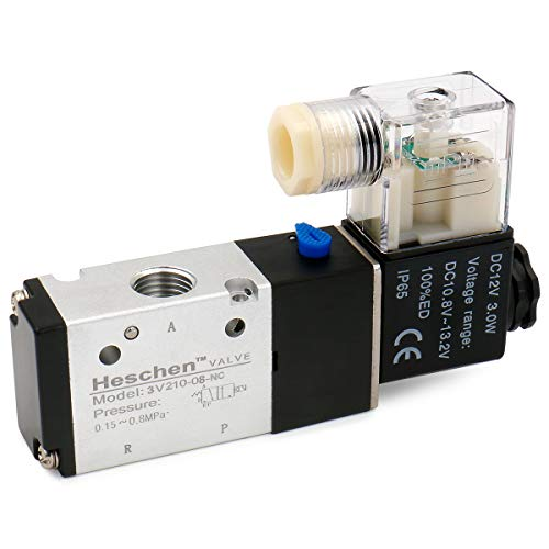 heschen Elektrische Pneumatische Magnetventil 3V210–0812VDC 2,5W PT1/43/2Wege CE
