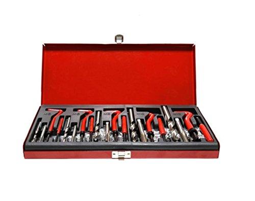 Hycy 131 STÜCKE Beschädigt Gewinde Repair Tool Kit Gewinde Auto Reparatur Werkzeug Kompatibel Handwerkzeug Set Für Auto M5 M6 M8 M10 M12