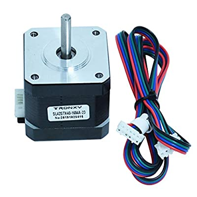 Shiwaki 3D Printer Accessories SL42STH40-1684A 1.8A 78Oz-in 42 Stepper Motor DIY