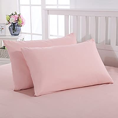 Mohap Durable Brushed Microfiber Pair of Bedding Pillowcases from Mohap